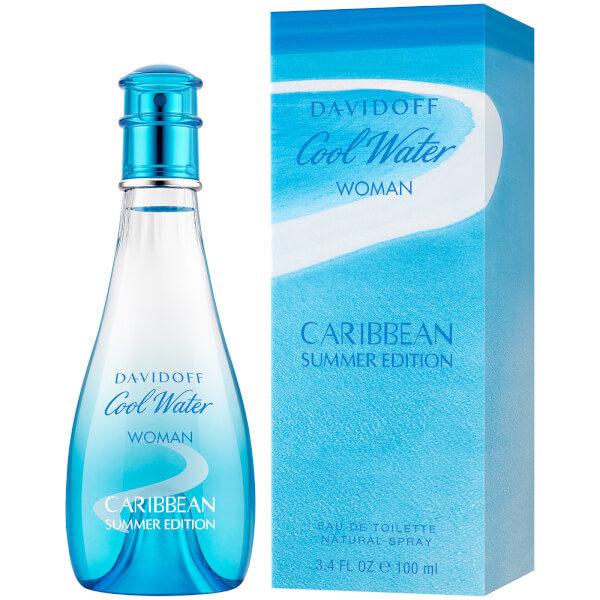 Davidoff Cool Water Summer Caribbean Edition-Woman -100ml-2